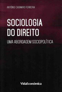 Capa do livro Sociologia do Direiro