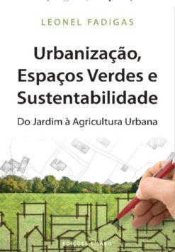 Capa do Livro Urbanização Espaços Verdes e Sustentabilidade