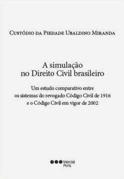 Capa do livro A Simulação no Direito Civil Brasileiro