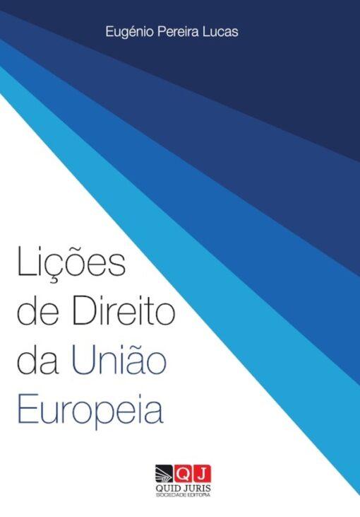 Capa do livro Lições de Direito da União Europeia