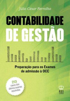 Capa do livro Contabilidade de Gestão preparação para os Exames de Admissão à OCC