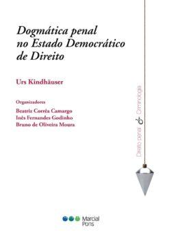 Capa do livro Dogmática penal no Estado democrático de direito