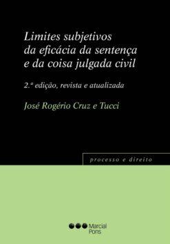Capa do livro Limites subjetivos da eficácia da sentença e da coisa julgada civil