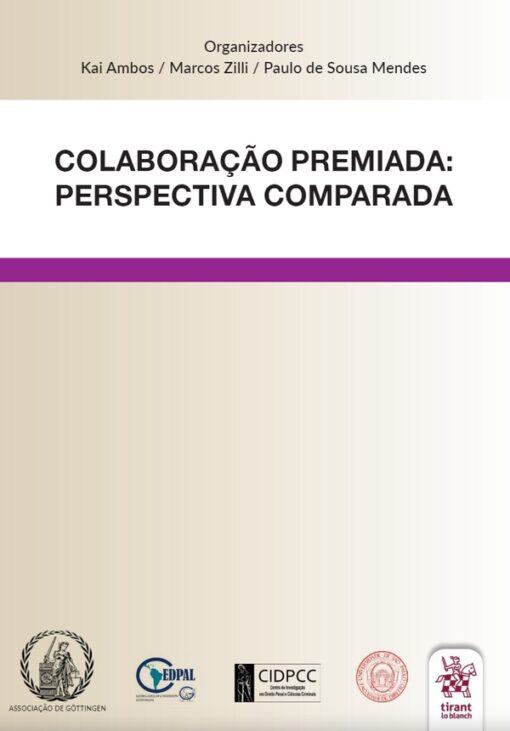 Capa do livro Colaboração Premiada perspectiva comparada