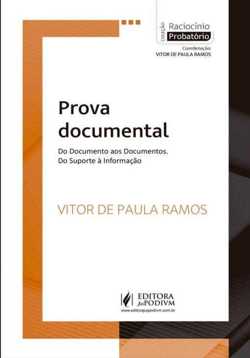 Capa do livro Prova Documental