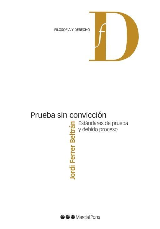 Capa do livro Prueba sin conviccion