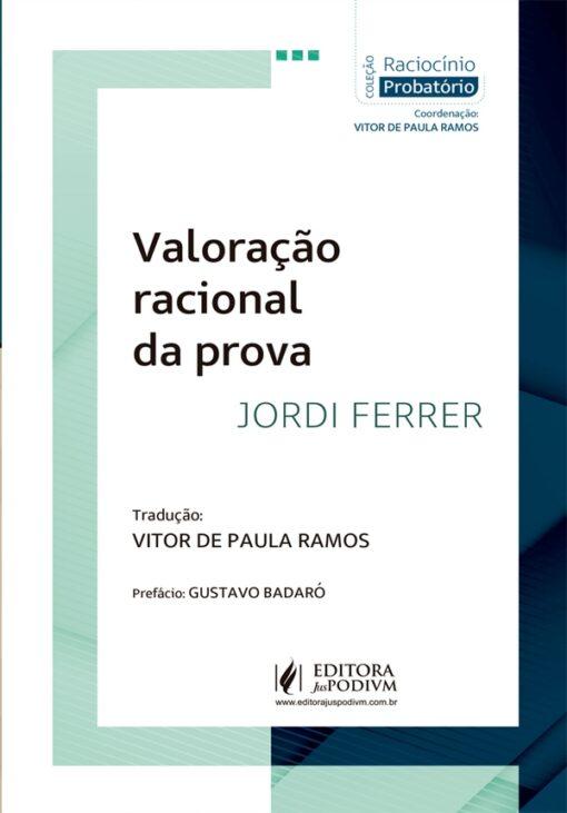 Capa do livro Valoração Racional da Prova