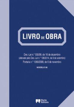 Livro de Obra Modelo 96 Porto Editora