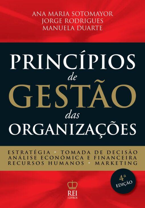 Capa do livro Princípios de Gestão das Organizações